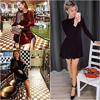 Платье бархат мод. 070, фото 1