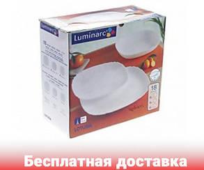 Столовый сервиз Luminarc Lotusia 18 пред Н3527, фото 2