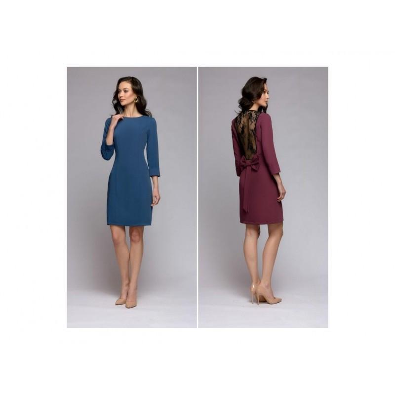 Платье спина гипюр мод.8019