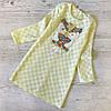 Детское платье р. 128 паетки Сова