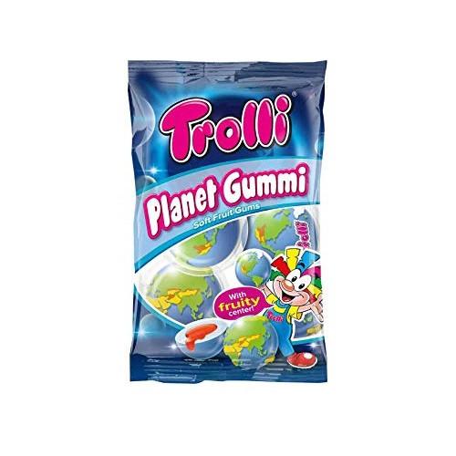 Тролли Пакет Планета /Trolli Planet Gum 75гр/21 в ящ