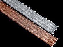 Провод автомобильный медный неизолированный гибкий плетеный АМГ 50