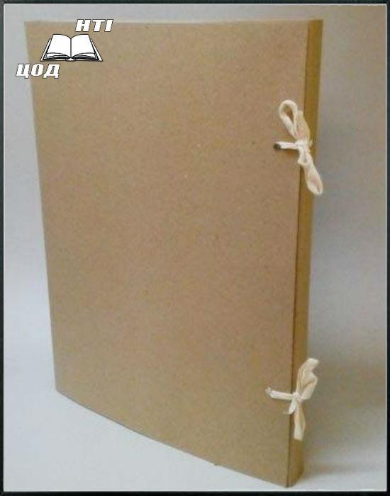 Папка архивная на завязках без титулки Высота корешка 40 мм