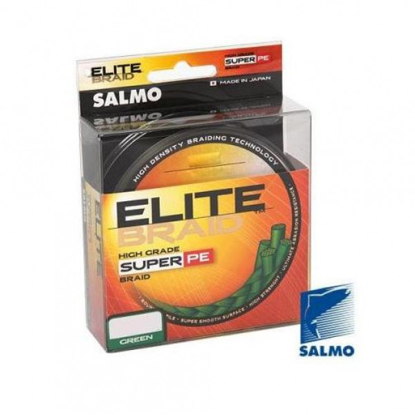 Леска плет. SALMO ELITE BRAID дл.200M Green 4817-015