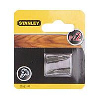 Біта PZ2 2шт Stanley STA61041  біта, насадка, головка, бита, для шуруповерта, отвертки