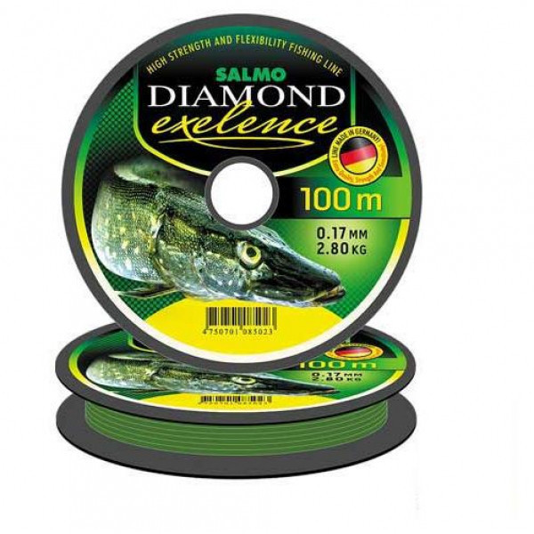 Волосінь DIAMOND EXELENCE 100 m *10 4027-035