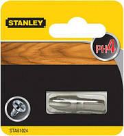 Біта PH4 2шт Stanley STA61024  біта, насадка, головка, бита, для шуруповерта, отвертки