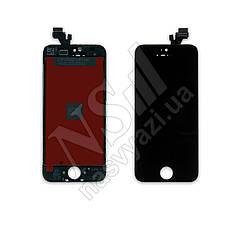 Дисплей APPLE iPhone 5 с черным тачскрином