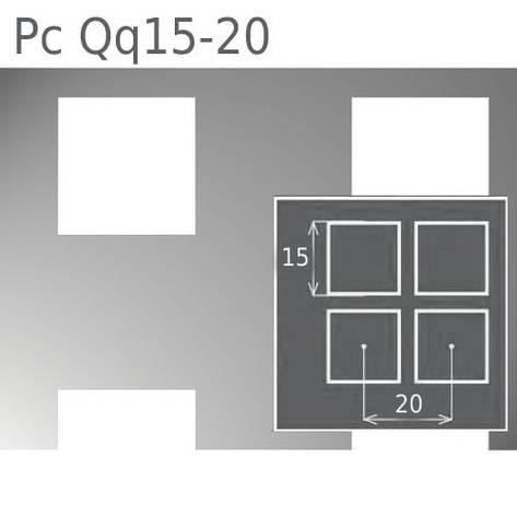 Перфорированный лист Pc Qq15-20/1.0/1000х2000, фото 2