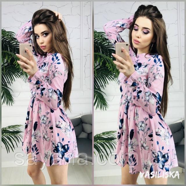 женское летнее платье оптом