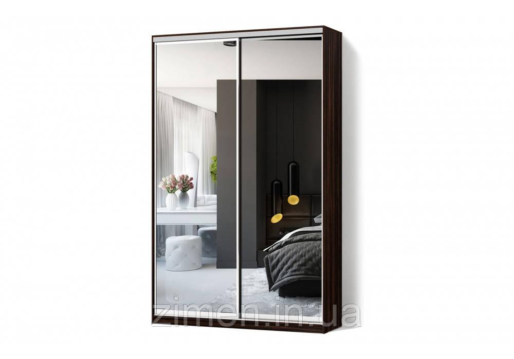 Шкаф-купе Зеркало/Зеркало двухдверный Классик