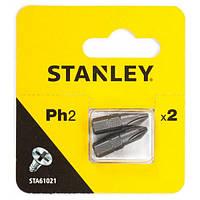 Бита насадка PH2 25 мм Stanley ( STA61021 ) | Біта насадка PH2 25 мм Stanley ( STA61021 ), фото 1