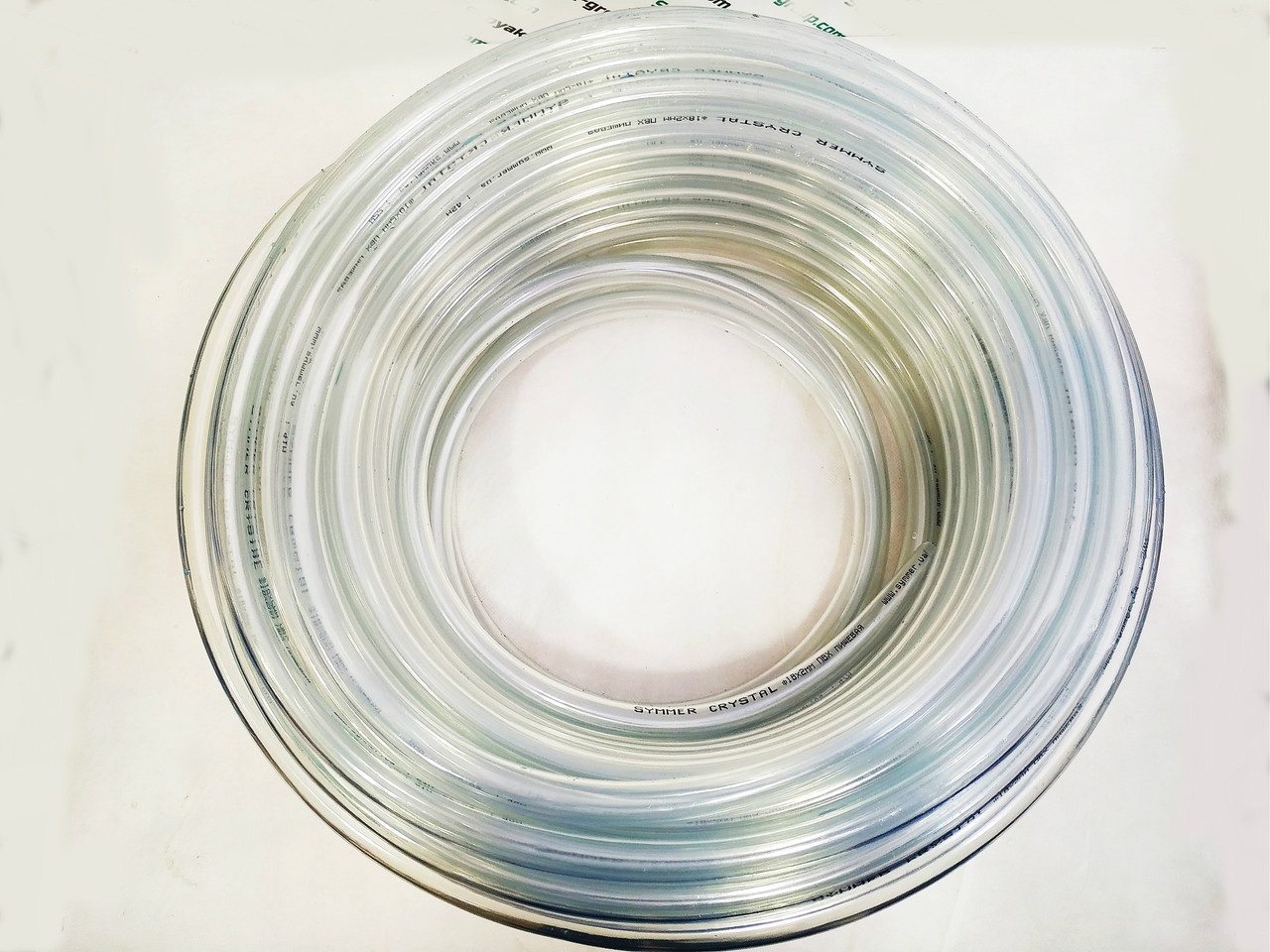 Шланг ПВХ Symmer Ø 20мм. высокого давления прозрачный пищевой (универсальный) 50м.
