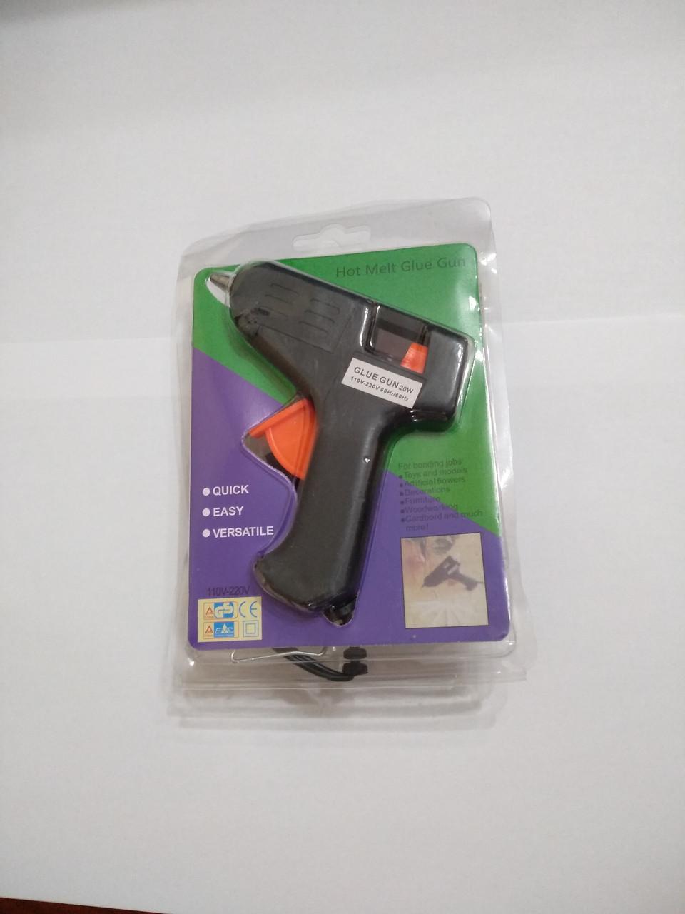 Клеевой пистолет. термопистолет