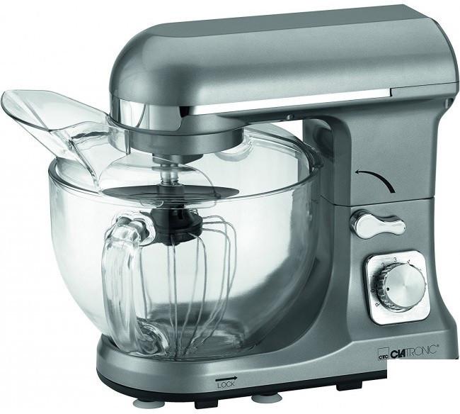 Кухонная машина (4,7 л., тестомес, профессиональный миксер) CLATRONIC KM 3663 titan