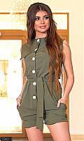 женкский комбинезон,комбинезон стильный молодежный,женский летний комбинезон с шортами,комбинезон шорты женск