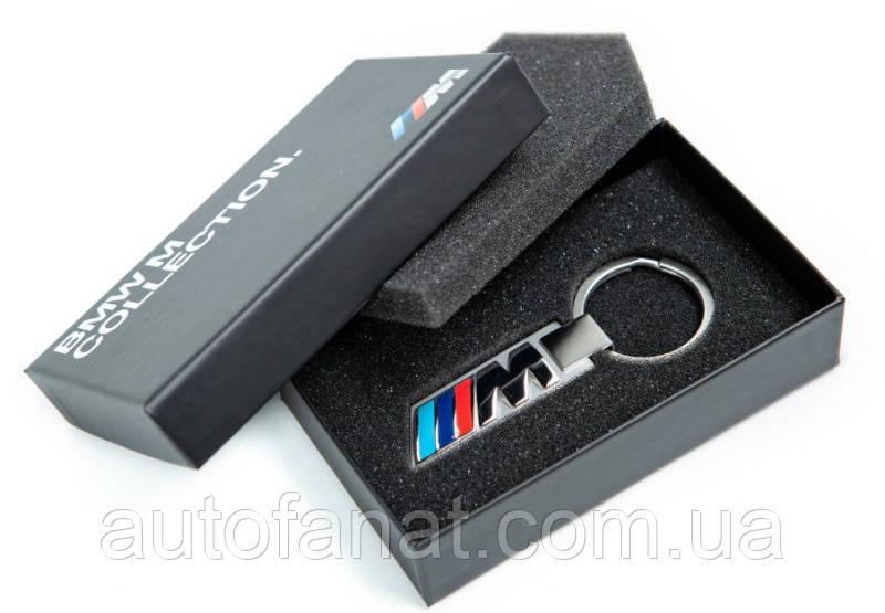 Брелок BMW M Logo Key Ring, Silver (80272454759)