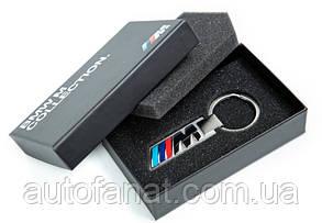 Брелок BMW M Logo Key Ring Silver, оригинал (80272454759)