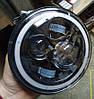 Светодиодная фара LED линза УАЗ, Нива, ВАЗ 2101, 2102, Jeep Wrangler, Nissan Patrol, Land Rover, Гелик
