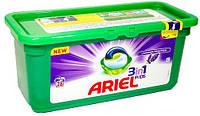 Ariel Pods Lavender Freshness 3 в 1 універсальний капсули для прання з лавандою 28 шт, фото 1