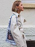 Авоська - бело-синяя, фото 7