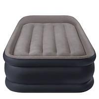 Односпальная надувная кровать Intex 64132 , фото 1