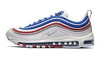 Оригинальные кроссовки Nike Air Max 97 All Star Jersey White/Blue/Red (ART. 921826 404)