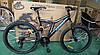 Спортивный подростковый велосипед Azimut Blackmount 26 дюйма,дисковые тормоза черно-синий