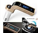 Авто FM модулятор Car G7 (Bluetooth + USB + microSD), фото 3