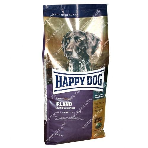 Happy Dog Irland Sensible Корм для собак с аллергиями и проблемами кожи, 12,5 кг