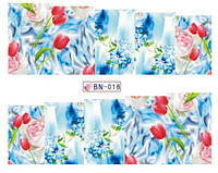 Слайдер дизайн BN018 цветы