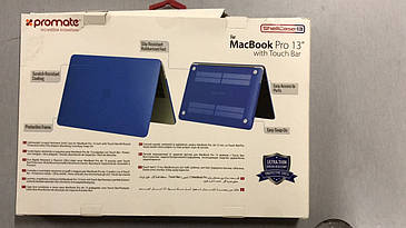 Накладка для ноутбука Macbook Pro 13 with Touch Bar shellCase-13 Blue РАСПАКОВАН