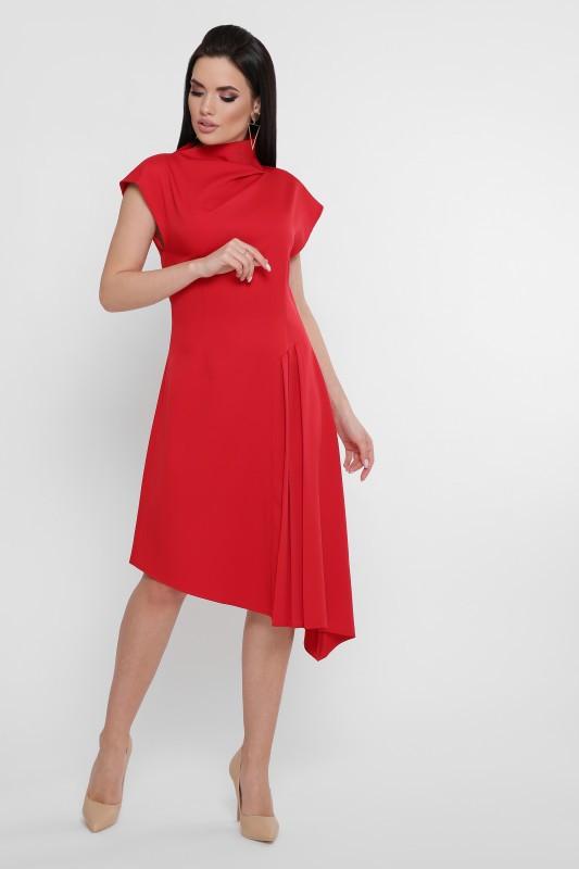 Оригинальное платье Isabella красный (42-48)