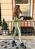 Женский брючный костюм с удлиненным пиджаком, фото 2