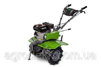 Бензиновий мотоблок BIZON 900 (7 к. с.) (зелений колір)+Фреза на мотоблок розбірні Ф23
