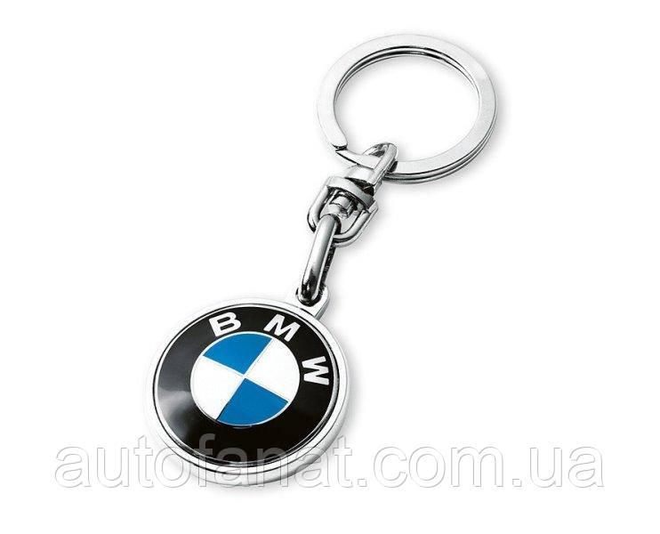 Оригинальный брелок с эмблемой BMW Key Ring Pendant, BMW Logo (80272454773)