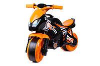 Мотоцикл беговел с ручкой, байк, каталка, ТехноК 5767, Харлей