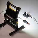 Фонарь рабочий переносной Tiross TS-1934 20w LED COB 1800lm c аккумулятором 4400mAh, фото 3