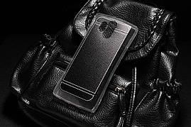 Чехол для Homtom HT70 силикон бампер с рифленой текстурой черный