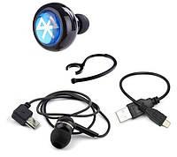 Беспроводные наушники AirBeats Bluetooth Stereo Headset Black (SUN0020)