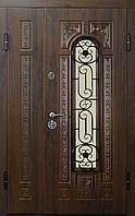 """Входная дверь """"МИНИСТЕРСТВО ДВЕРЕЙ"""" ПО-139 V Дуб темный Vinorit, 1200"""
