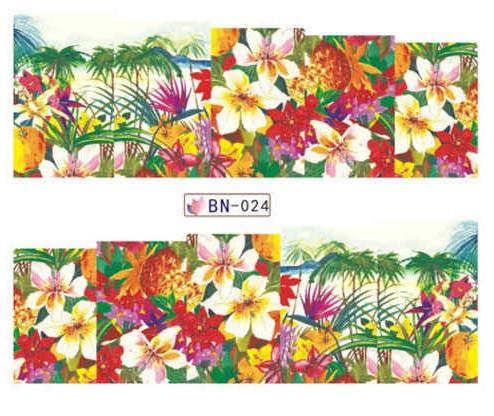 Слайдер дизайн BN024 цветы