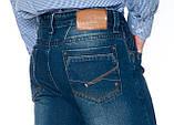 """Мужские джинсы Franco Benussi 12-671 L 36"""" синие, фото 7"""