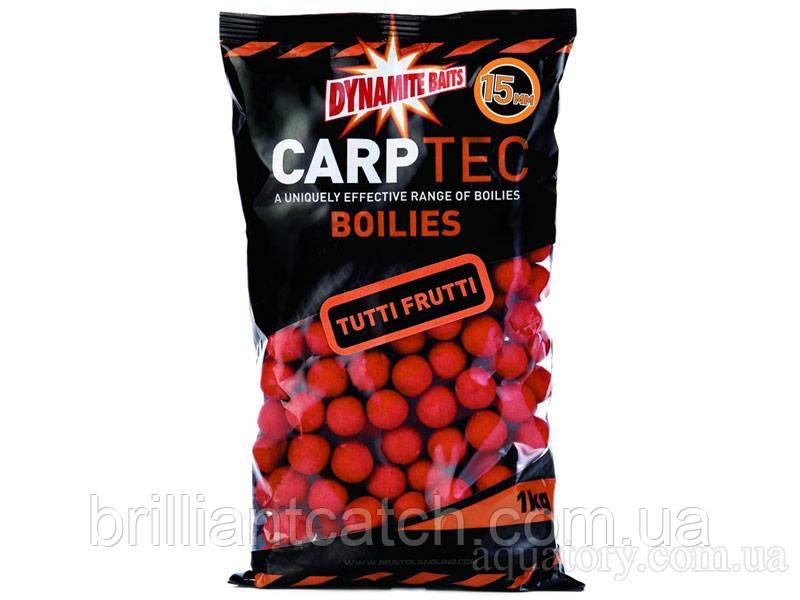 Бойлы тонущие Dynamite Baits CarpTec Tutti Frutti 15mm 2kg