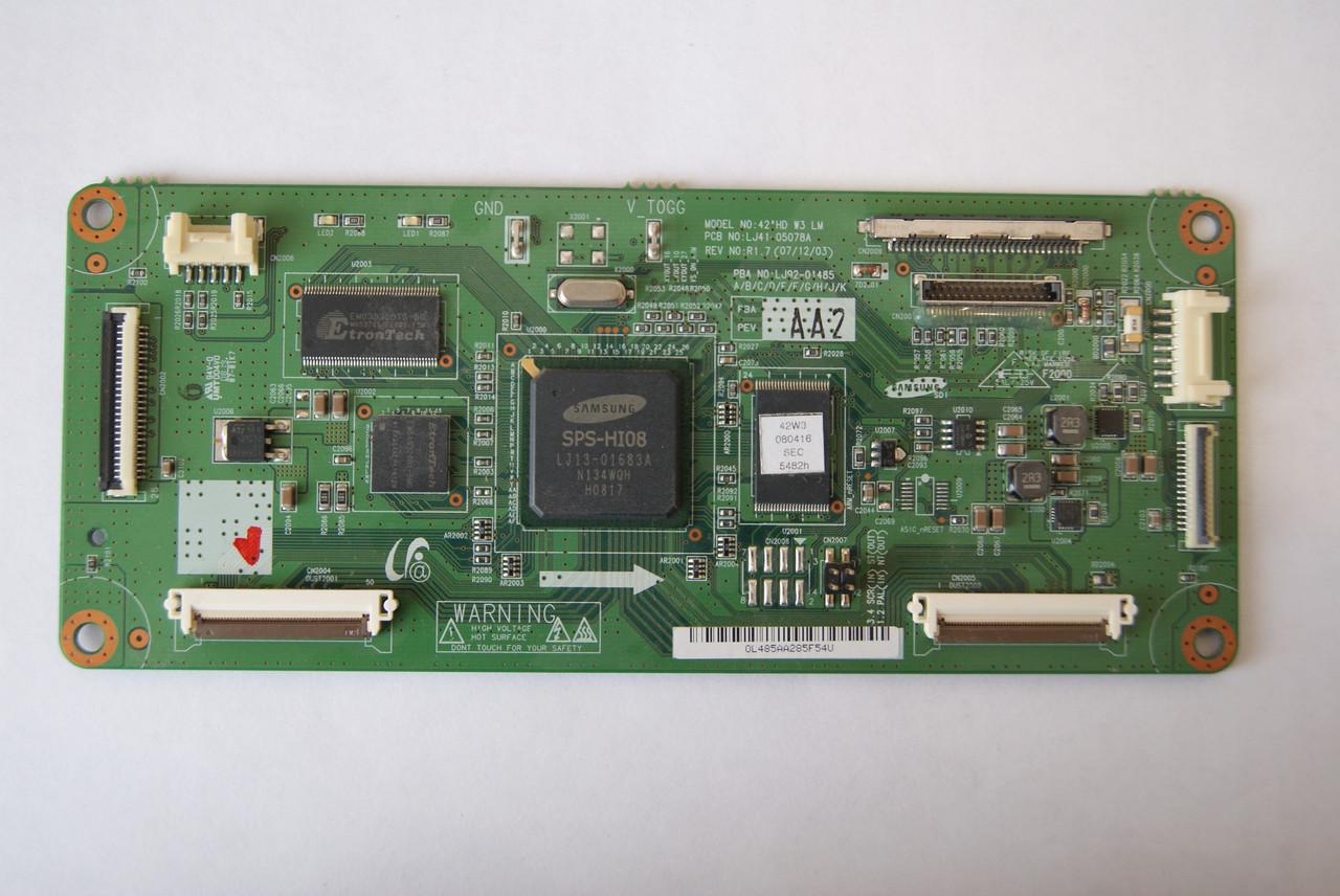 Logic Samsung LJ92-01485A  LJ41-05078A  Оригинал
