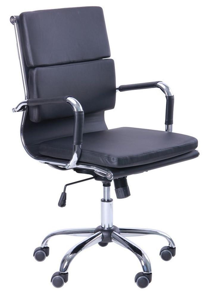 Кресло Slim FX LB (XH-630B) черный TM AMF