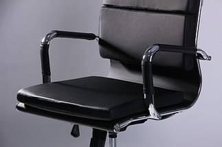 Кресло Slim FX LB (XH-630B) черный TM AMF, фото 3