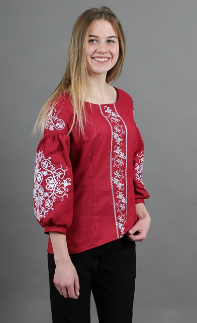"""Блуза  вышиванка """" Карпаты """""""