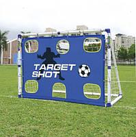 Футбольные ворота JS-7180T 183х130 см с зонами