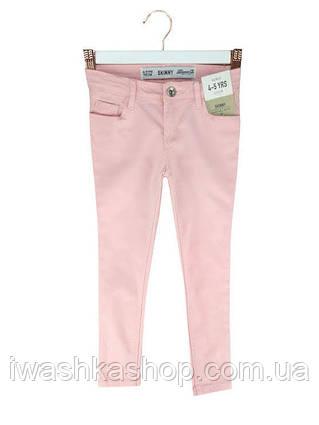 Стильные розовые джинсы скинни skinny на девочек 5 - 6 лет, р. 116, Denim&Co by Primark
